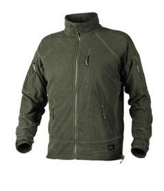 Helikon Alpha Tactical flisová bunda, olivová