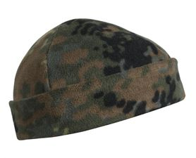 Helikon flisová čiapka, flecktarn