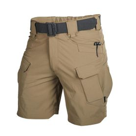 "Helikon Outdoor Tactical Rip-Stop 8,5"" krátke nohavice polycotton Mud Brown"