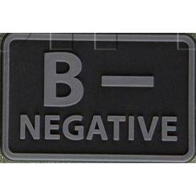 Helikon-Tex 3D PVC nášivka B- Negative, set 2ks