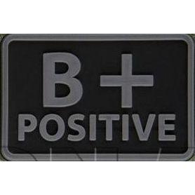Helikon-Tex 3D PVC nášivka B+ Positive, set 2ks