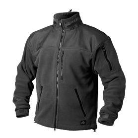 Helikon-Tex Classic Army flisová bunda spevnená čierna, 300g/m2