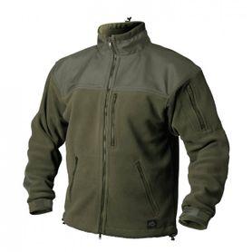 Helikon-Tex Classic Army flisová bunda spevnená olivová, 300g/m2