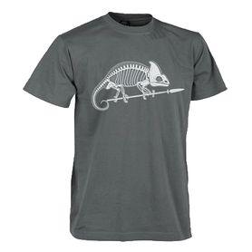 Helikon-Tex krátke tričko chameleón sivé