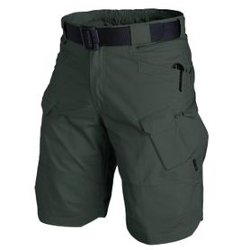 "Helikon Urban Tactical Rip-Stop 11"" krátke nohavice polycotton jungle green"