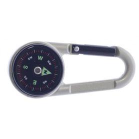 Karabína s kompasom a teplomerom