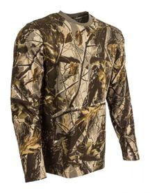M-Tramp tričko s dlhým rukávom, braun-hardwood