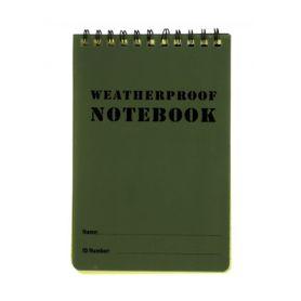M-Tramp vodeodolný zápisník, zelený, 15.2 x 10.1cm