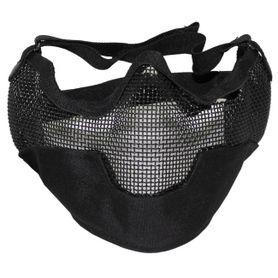 MFH Airsoft maska na tvár, čierna