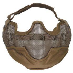 MFH Airsoft maska na tvár, coyote