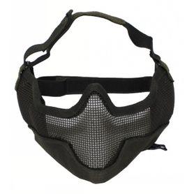 MFH Airsoft maska na tvár, olivová