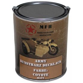 MFH army farba coyote matná, 1 litr