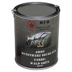MFH army farba, lesná zelená matná, 1 litr