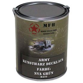 MFH army farba, NVA zelená matná, 1 litr
