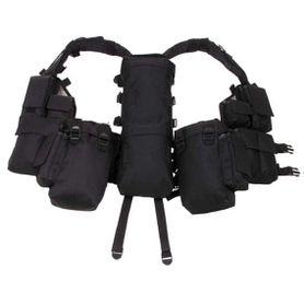 MFH Bags taktická vesta, čierna