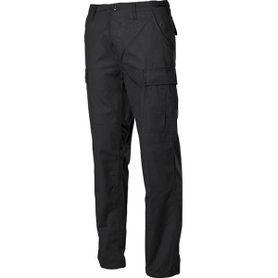 MFH BDU pánske nohavice Rip-Stop čierne