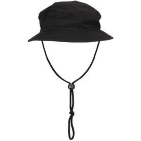 MFH Boonie Rip-Stop klobúk, čierny