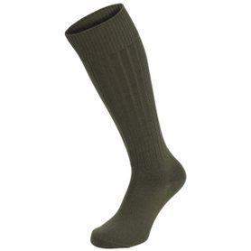 MFH BW ExtraLang ponožky 1 pár vysoké olivové