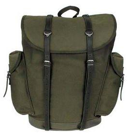 MFH BW horský ruksak olivový 30L kožené popruhy