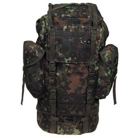 MFH BW nepremokavý ruksak vzor Flecktarn 65L