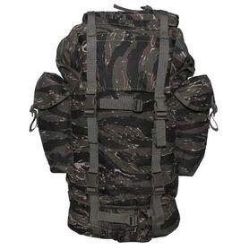 MFH BW nepremokavý ruksak vzor Tiger Stripe 65L