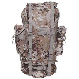 MFH BW nepremokavý ruksak vzor Vegetato desert 65L