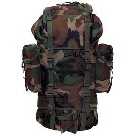 MFH BW nepremokavý ruksak vzor woodland 65L