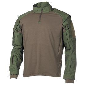 MFH Combat taktický nátelník s dlhým rukávom, olivový