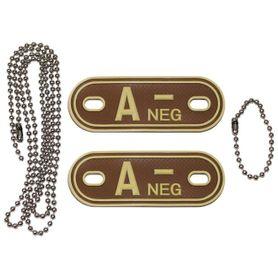 MFH Dog-Tags psie štítky A NEG, 3D PVC