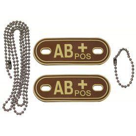 MFH Dog-Tags psie štítky AB POS, 3D PVC