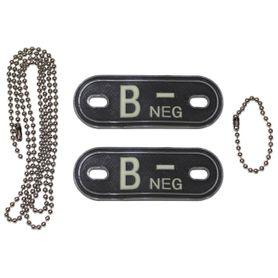 MFH Dog-Tags psie štítky B NEG, 3D PVC