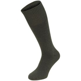 MFH Extrawarm ponožky froté 1 pár vysoké olivové