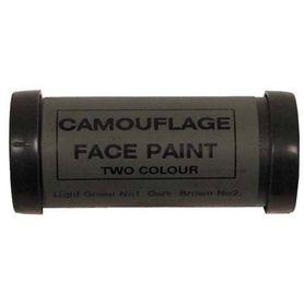 MFH Face maskovacia farba na tvár, hnedo-zelená