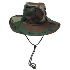 MFH Cowboy klobúk vzor woodland
