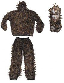 MFH Leaves maskovací komplet, hunter-brown
