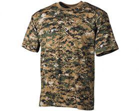 MFH maskáčové tričko vzor digital woodland, 160g/m2