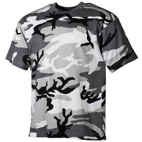 MFH maskáčové tričko vzor metro urban, 160g/m2