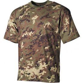 MFH maskáčové tričko vzor vegetato, 160g/m2