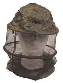 MFH moskytiéra na hlavu s obručou, olivová
