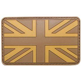 MFH nášivka 3D Veľká Británia 8x5cm desert