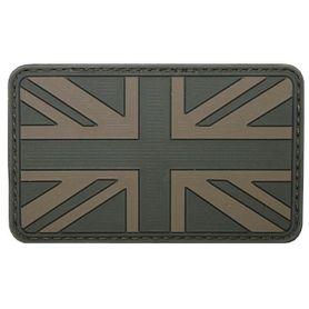MFH nášivka 3D Veľká Británia 8x5cm olivová