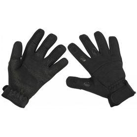 MFH Neoprénové rukavice Combat čierne
