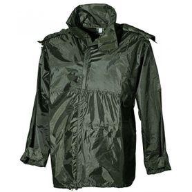 MFH nepremokavá bunda do dažďa PVC olivová