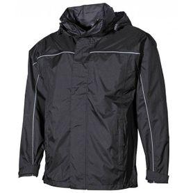 FOX nepremokavá bunda do dažďa Rachel čierna