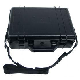 MFH plastový vodeodolný box, čierny 39x29x12 cm