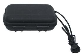 MFH plastový vodotesný box čierny