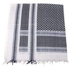 MFH PLO bavlnená arafatka čierno - biela, 115 x 110cm