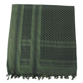MFH PLO bavlnená arafatka čierno - olivová, 115 x 110cm