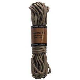 MFH polypropylénové lano 15 metrov 5mm coyote