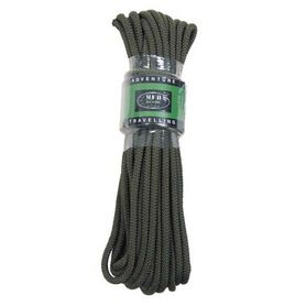 MFH polypropylénové lano 15 metrov 7mm olivové